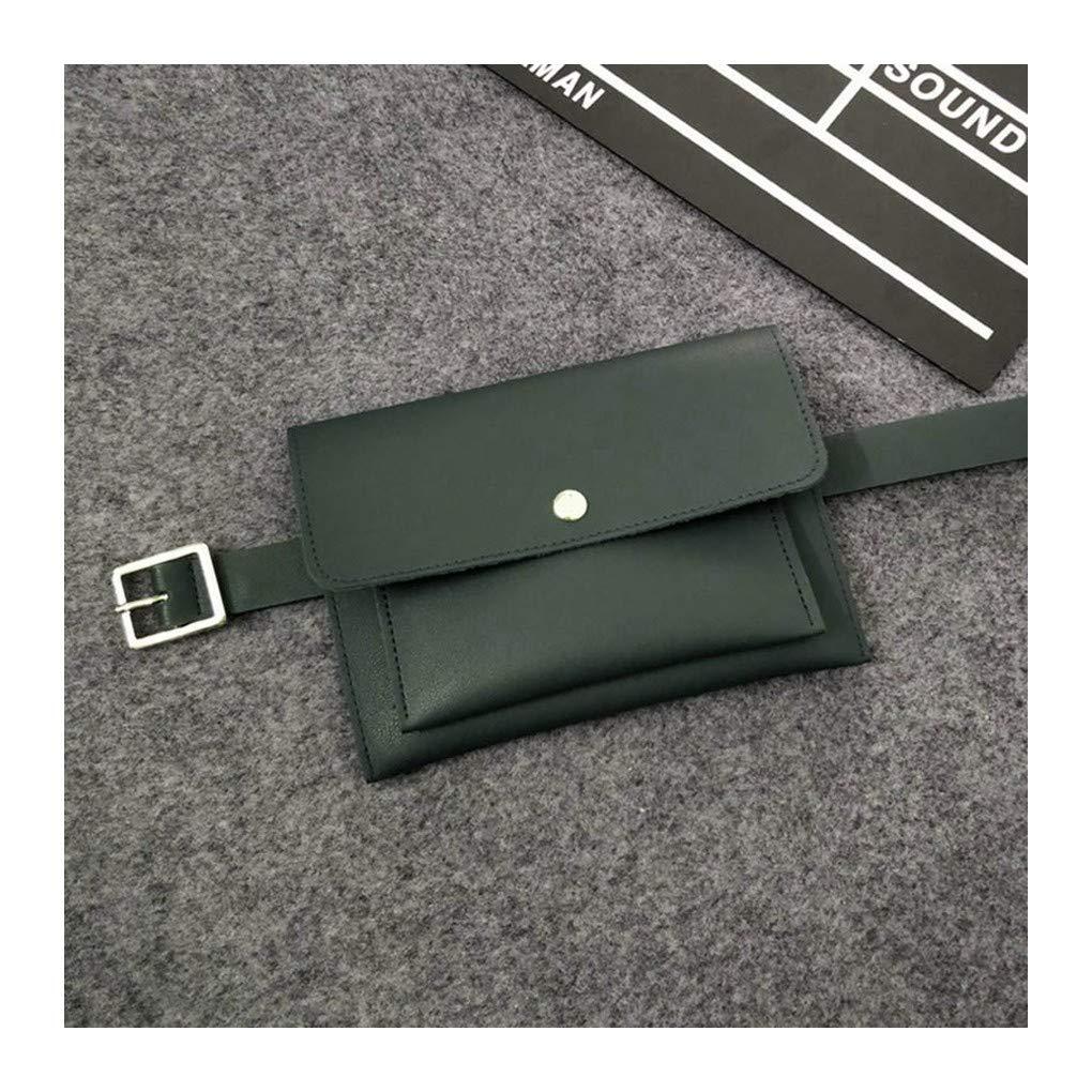 deb40de93afd Amazon.com : HAOLIEQUAN Waist Pack Waist Bags for Women Fashion ...