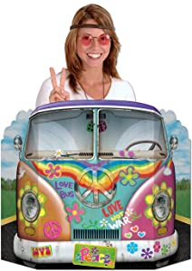 Hippie Bus Photo Prop Party Accessory (1 count) (1/Pkg)