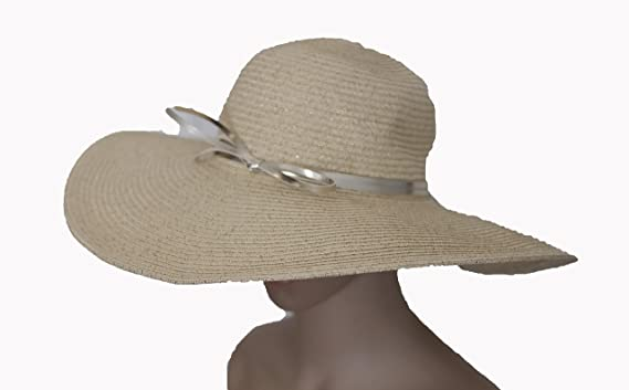 586e5705a3 Image Unavailable. Image not available for. Color  Banana Republic Woven  Beach Sun Hat ...