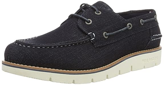 Mens C2285ase 4b Boat Shoes Tommy Hilfiger fEhJF