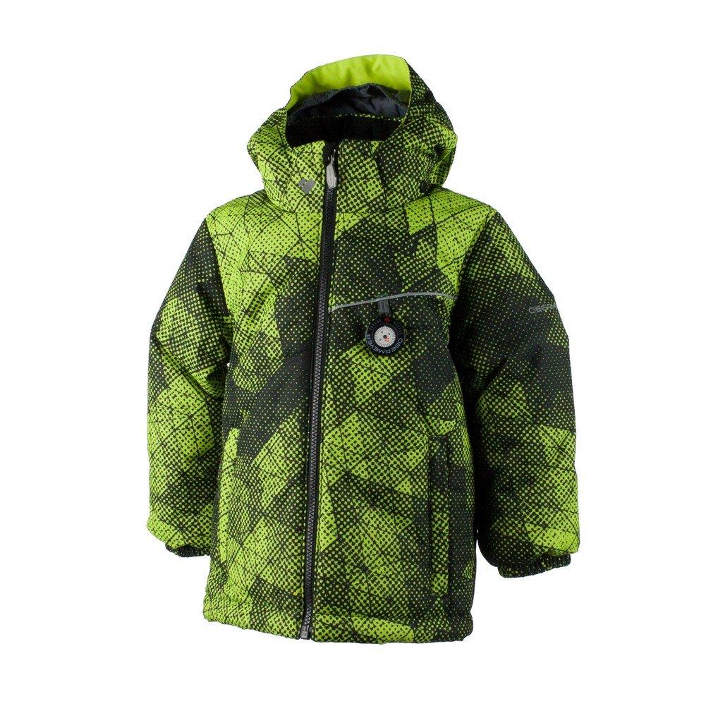 Obermeyer Boys Stealth Jacket (Green Mesh Print / 4)
