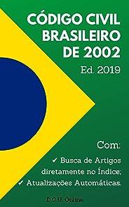 Código Civil Brasileiro de 2002 (Lei nº 10.406/2002): Inclui Busca de Artigos diretamente no Índice e Atualizações Automática