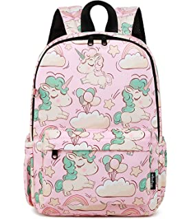 Abshoo Little Kids Backpacks for Boys and Girls Preschool Backpack With  Chest Strap (Unicorn Pink c8863858fa0e9