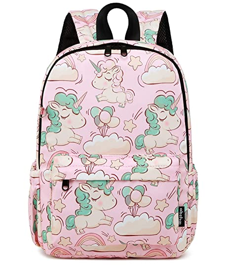 ad7d5b763 Abshoo Little Kids Backpacks for Boys and Girls Preschool Backpack With  Chest Strap (Unicorn Pink)