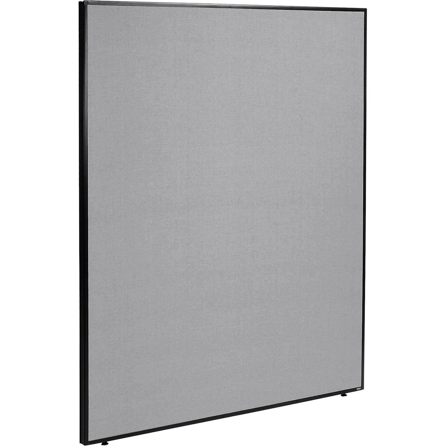 60-1/4''W x 72''H Office Partition Panel, Gray by Global Industrial