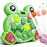 Riarmo Whack a Frog Game, Interactive Pounding Toy for Early Developmental Learning, Ideal Stem Toy with Music Lights…