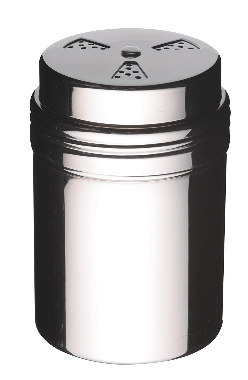 6 x 6 x 9 cm 2.5 x 2.5 x 3.5 KitchenCraft Adjustable Stainless Steel Icing Sugar Chocolate Flour Shaker
