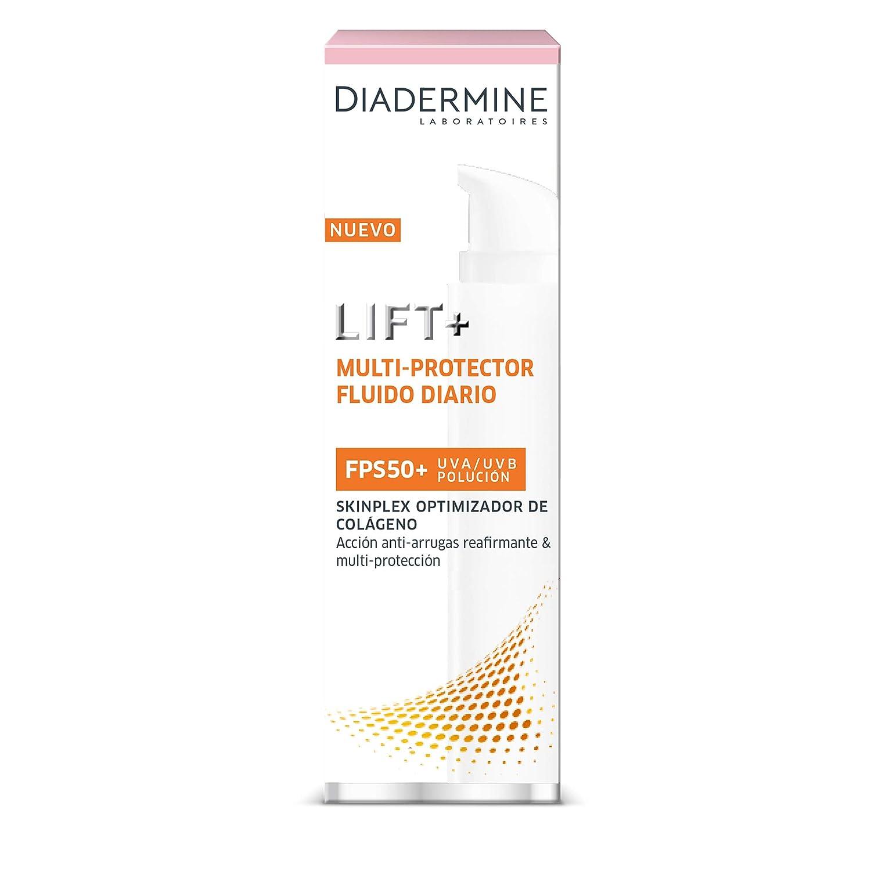 Diadermine Lift+ Multiprotector - Fluido Diario Anti Arrugas FPS50+, 50 ml