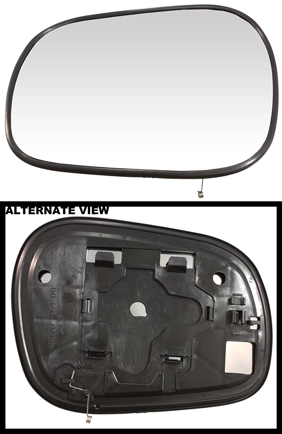 99-05 Suzuki Grand Vitara Non Heated Replaces 8476065D20 APDTY 67911 Replacement Left Side View Mirror Glass Fits Driver-Side