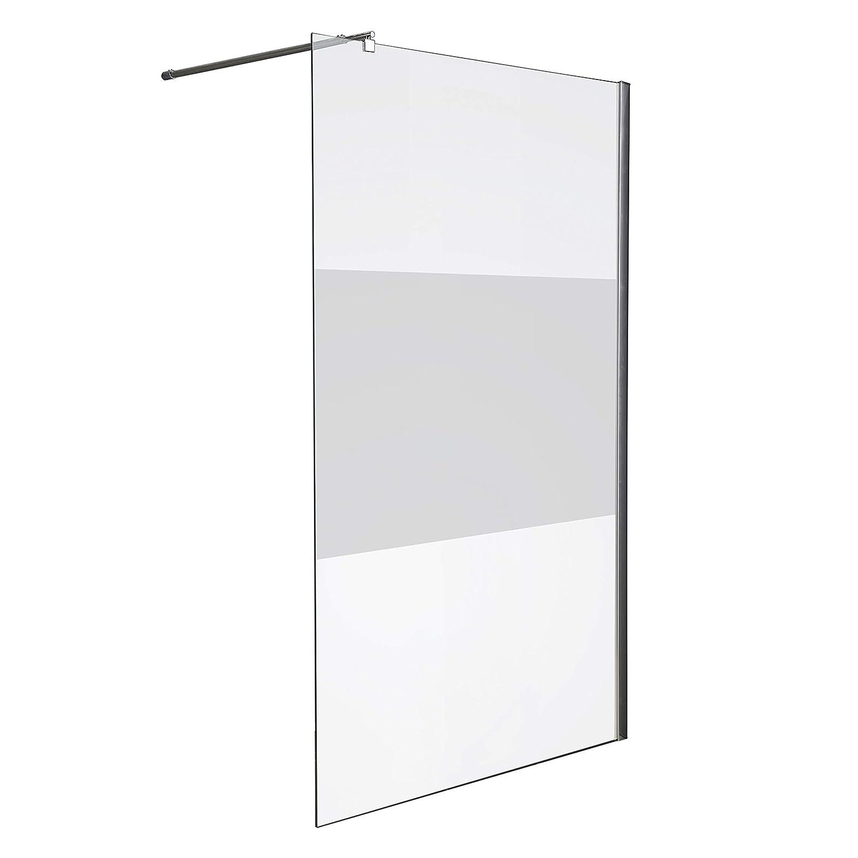 Screen-printed 120 x 200 cm Aurora Fixed Shower Panel