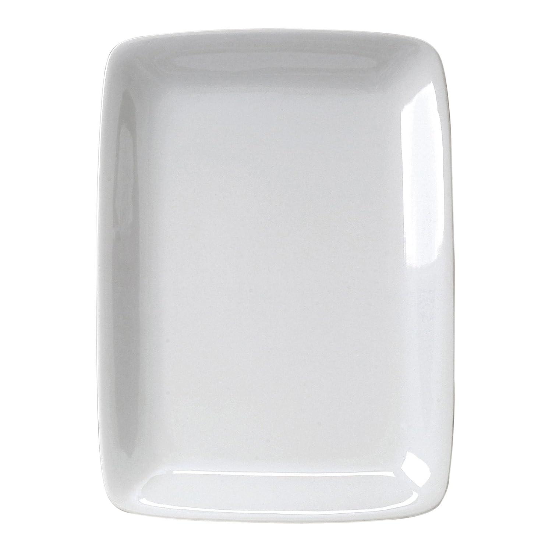 White Rectangular Platter