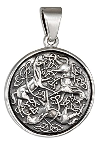 Amazon sterling silver celtic horse pendant jewelry sterling silver celtic horse pendant aloadofball Images