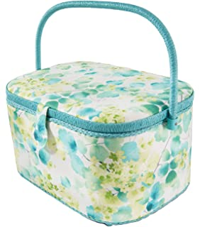 "Extra Large Dritz Sewing Basket Box X-Large 15-1//4/"" x 10-1//4/"" x 8-3//4/"" Black Dress Forms"