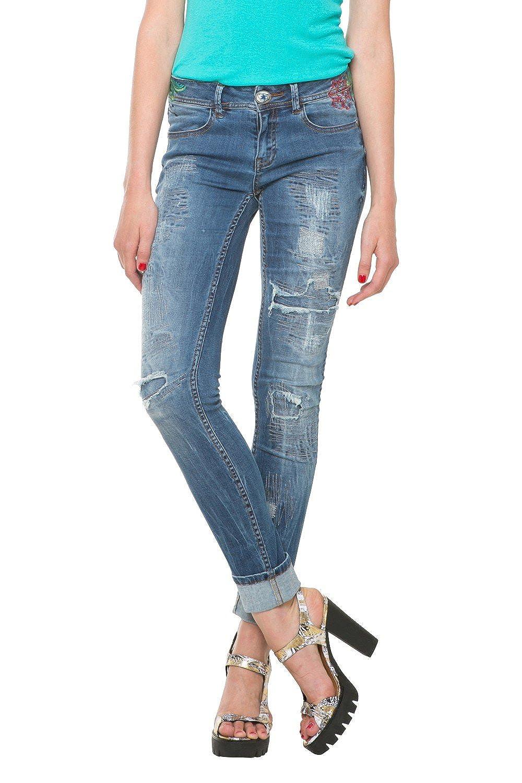 Desigual Women jeans DENIM DONATO 61D26D3 5017