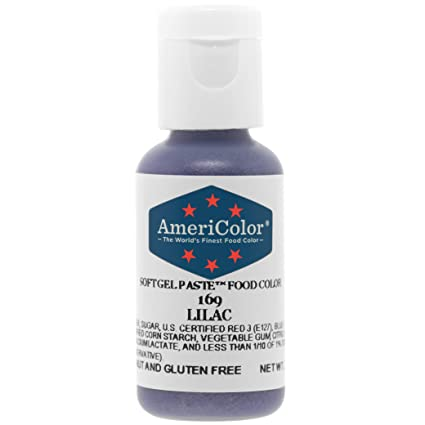 Food Coloring AmeriColor Lilac Soft Gel Paste .75 Ounce