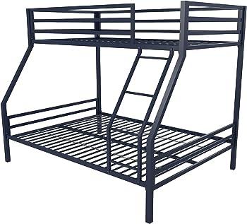 Novogratz Maxwell Twin/Full Metal Bunk Bed