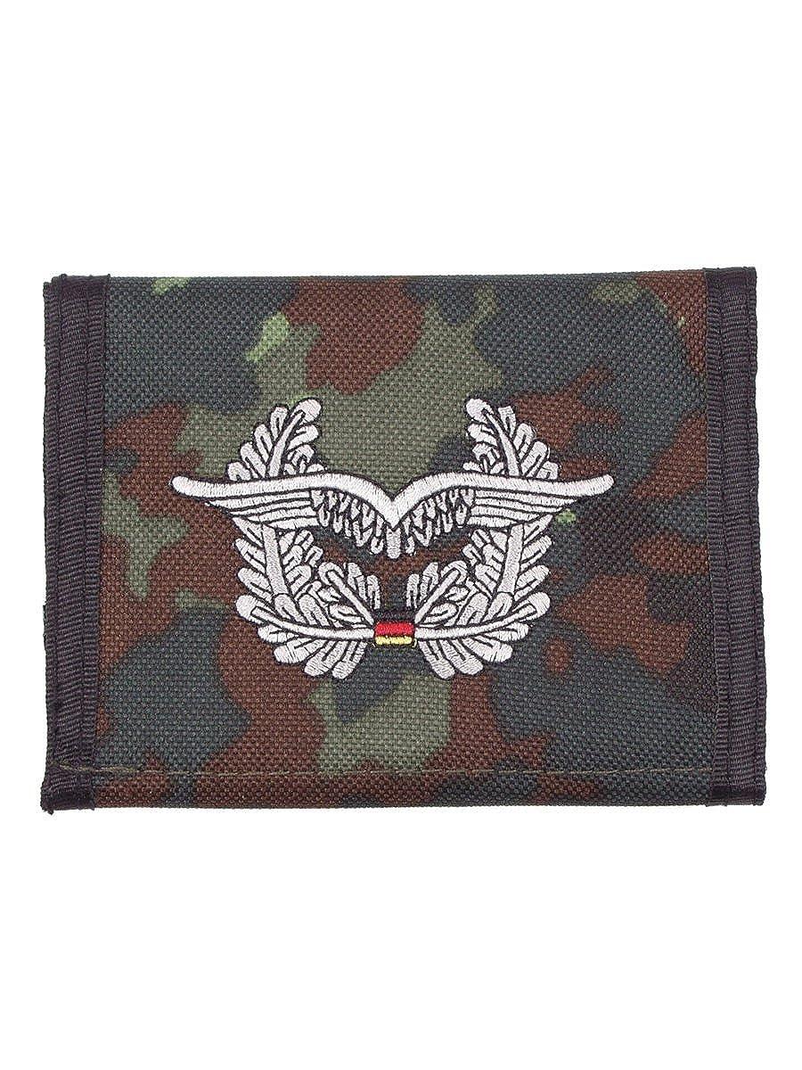 Porte-monnaie avec motif d/'insigne de l/'arm/ée de l/'air allemande Camouflage