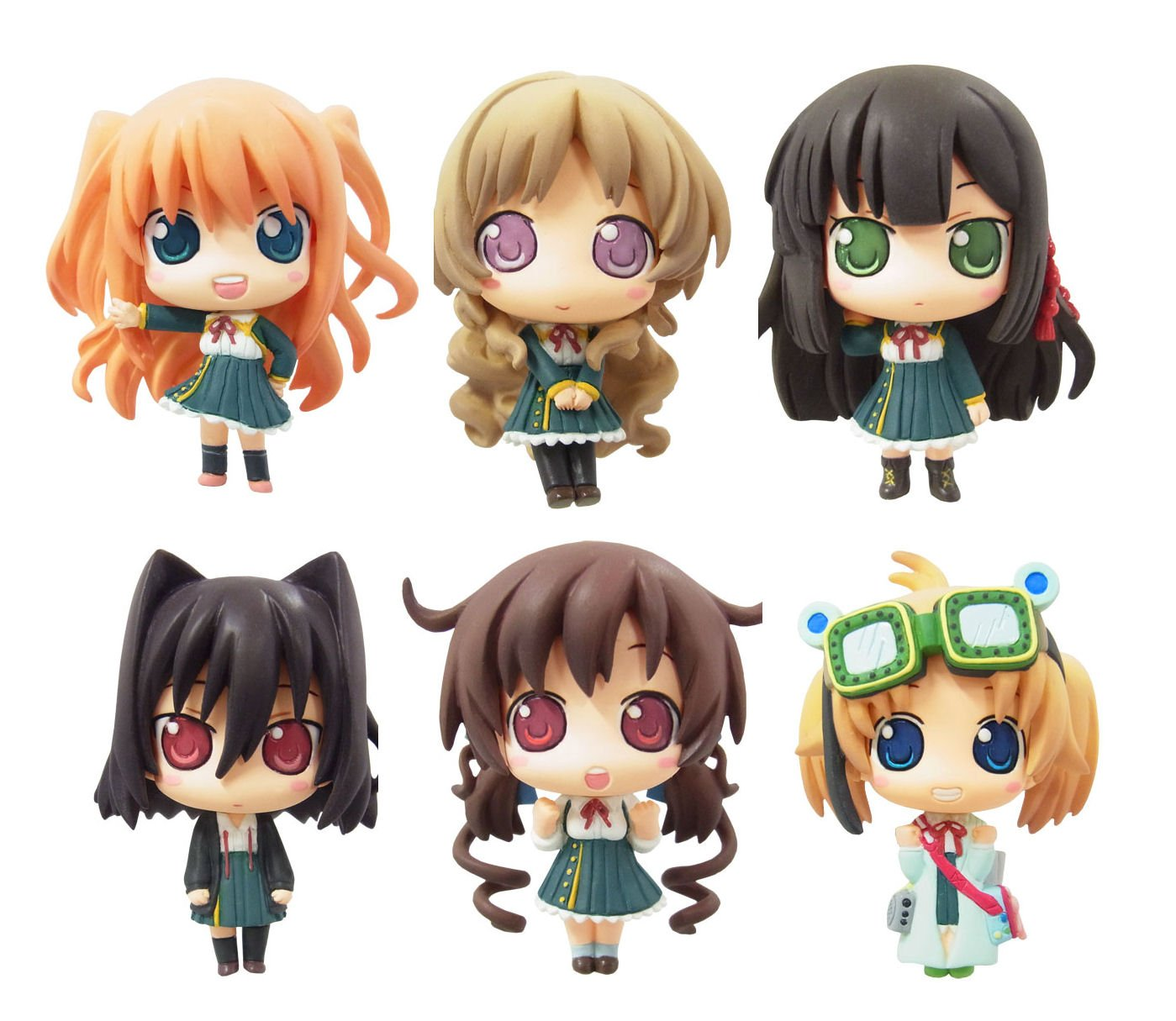 Farbe Collection - Love, Election & Chocolate (8pcs) (PVC Figure)