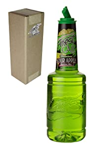 Finest Call Premium Sour Apple Martini Drink Mix, 1 Liter Bottle (33.8 Fl Oz), Individually Boxed