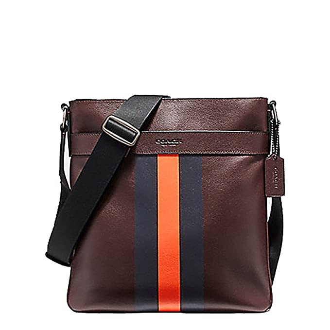 60a40c464ac6 Coach Charles Crossbody Varsity Leather Messenger Tote Bag - F54193   Amazon.ca  Clothing   Accessories