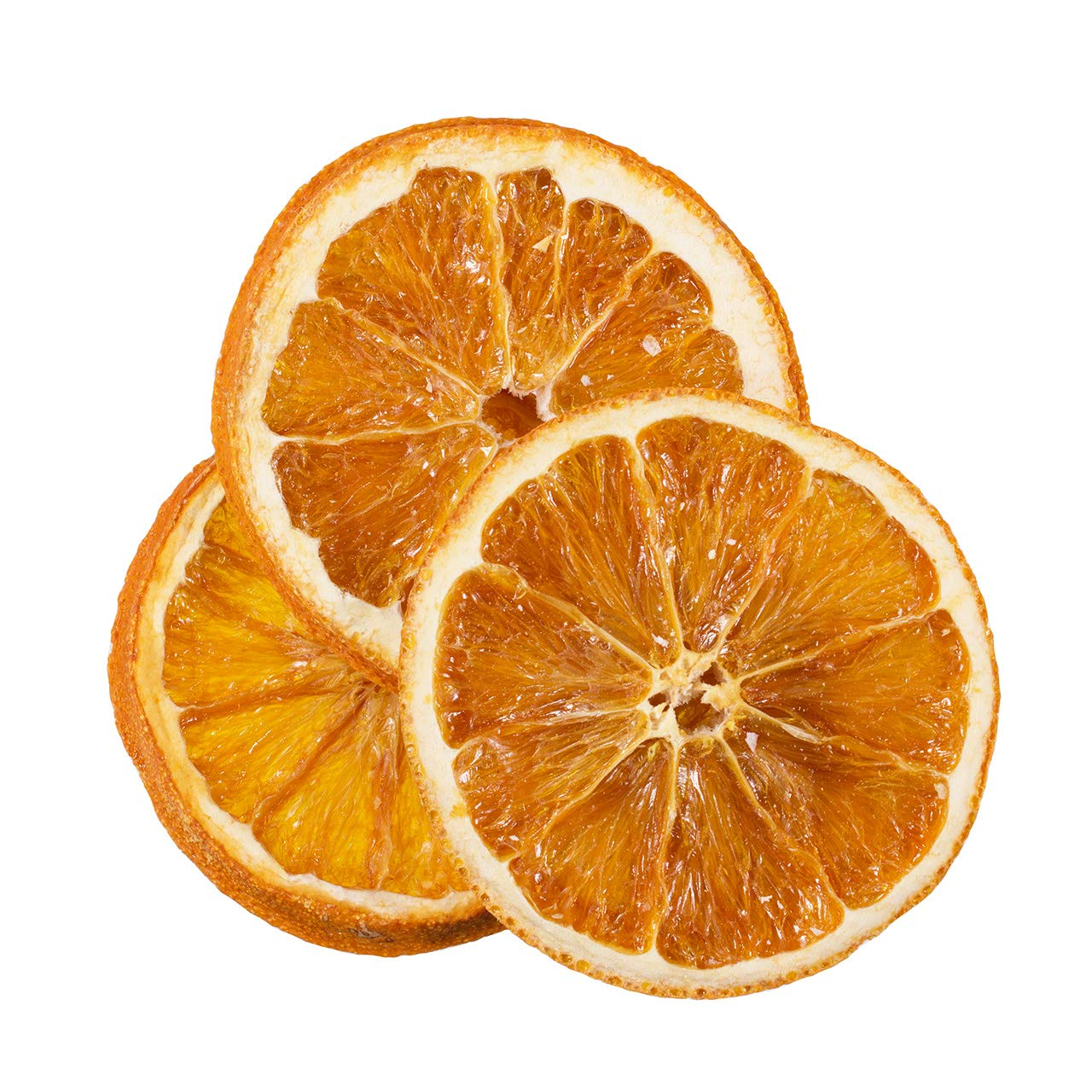 Bella Viva Orchards Organic Dried Orange Slices, Sweet no Sugar Added, 1 lb of Dried Fruit