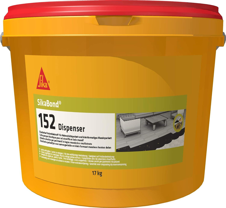 152 Marr/ón Adhesivo el/ástico para suelos de madera Sika Bond 600 cm3