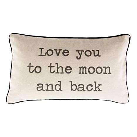Sass & Belle Love You To The Moon and Back - Cojín para San ...