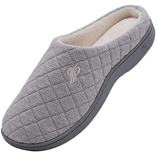 Amazoncom Wishcotton Womens Memory Foam Cotton Slippers Slippers