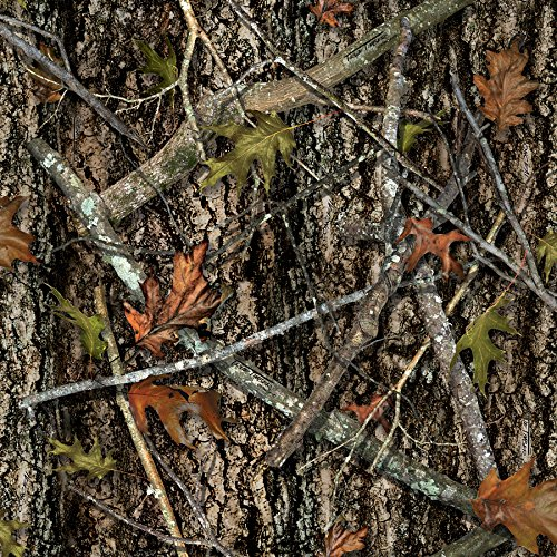 True Timber Camo New Polyester Mesh Fabric by The Yard, 60-Inch Wide, Multi-Color