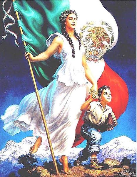 US SELLER-Jesus Helguera Mexico Spanish art poster modern home decor