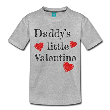 d5a35e179 Spreadshirt Valentine s Day Daddy s Little Valentine Kids  Premium T ...