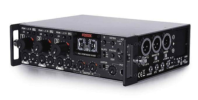Fostex FM-3 mesa de mezclas para DJ: Amazon.es: Instrumentos musicales