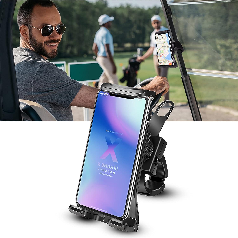 phone holder for golf cart