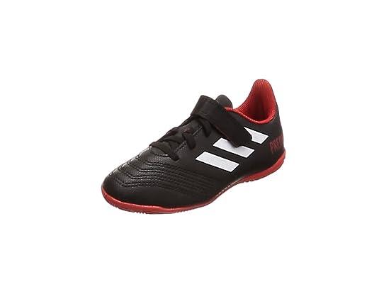 Adidas Predator Tango 18.4 In J H&L, Zapatillas de fútbol Sala Unisex niño, Blanco