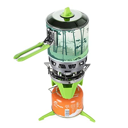 Fire-Maple Fixed Star 3 Personal Cooking System, Hiking Camping Backpacking Stove