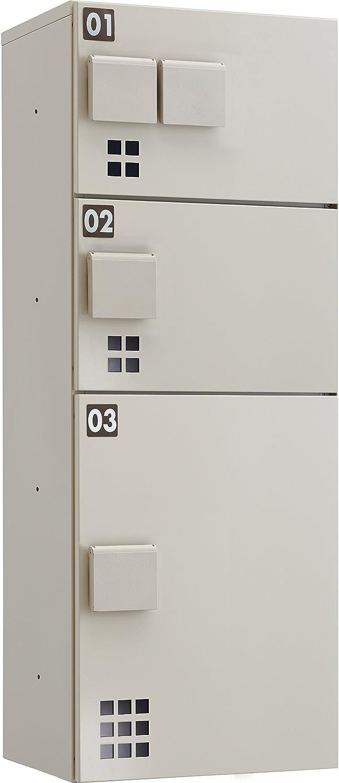 ダイケン ハイツアパート向け 宅配ボックス 防滴仕様 日本製 完成品 TBX-E2 SSN型 B0749MZB54