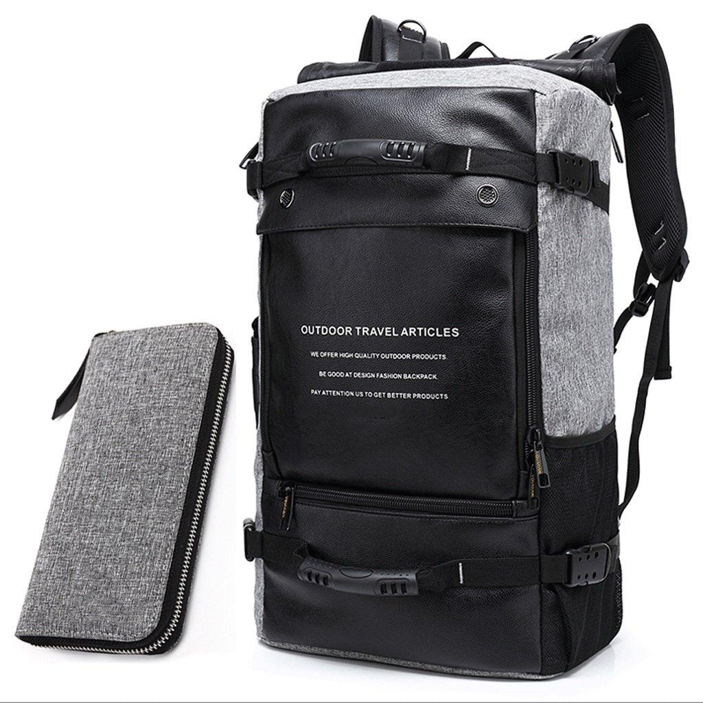 HM3287 Outdoor-Wanderrucksack - Wochenende Wasserdicht Und Laptop-Fach - Camping, Reisen, Wandern Rucksäcke, Große Mehrzweck-Bergsteigen Taschen, Casual Reisegepäck Taschen