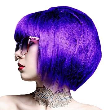 crazy color coloration pour cheveux semi permanente 100ml violet - Coloration Permanente Violet