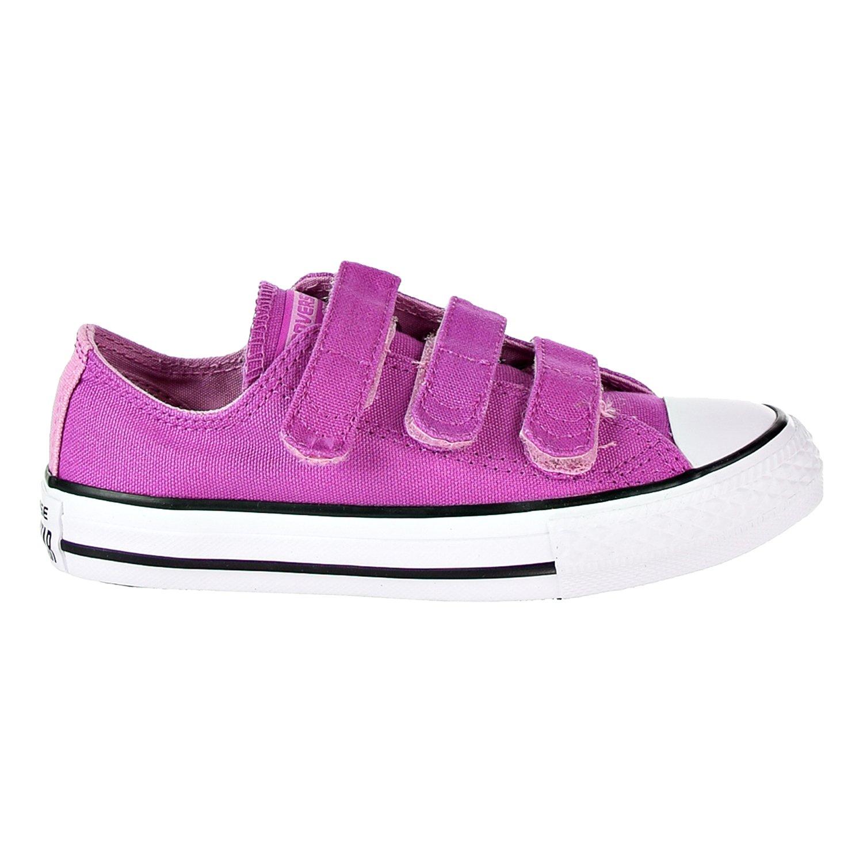 Converse Chucks Taylor 3 Strap Ox Sneaker (1 M US Little Kid)