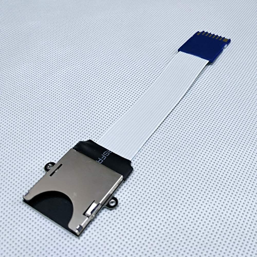 Velidy SD to SD Card Extension Cable Adapter Flexible Extenders MicroSD To SD//SDHC//SDXC 10CM