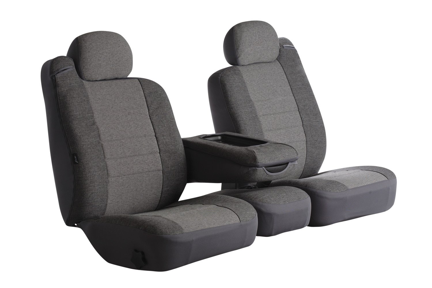 Leatherette Solid Black Fia SL68-29 BLK//BLK Custom Fit Front Seat Cover Bucket Seats