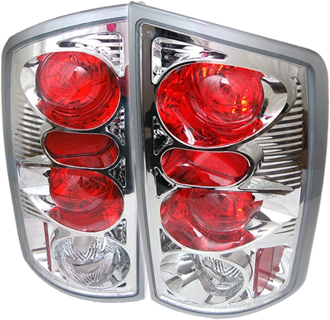 Chrome Spyder Dodge Ram 1500 02-06// Ram 2500 02-05 //Ram 3500 02-05 LED Tail Lights