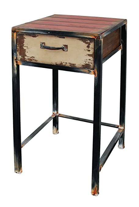 Exceptionnel Attraction Design Metal Antique Night Stand