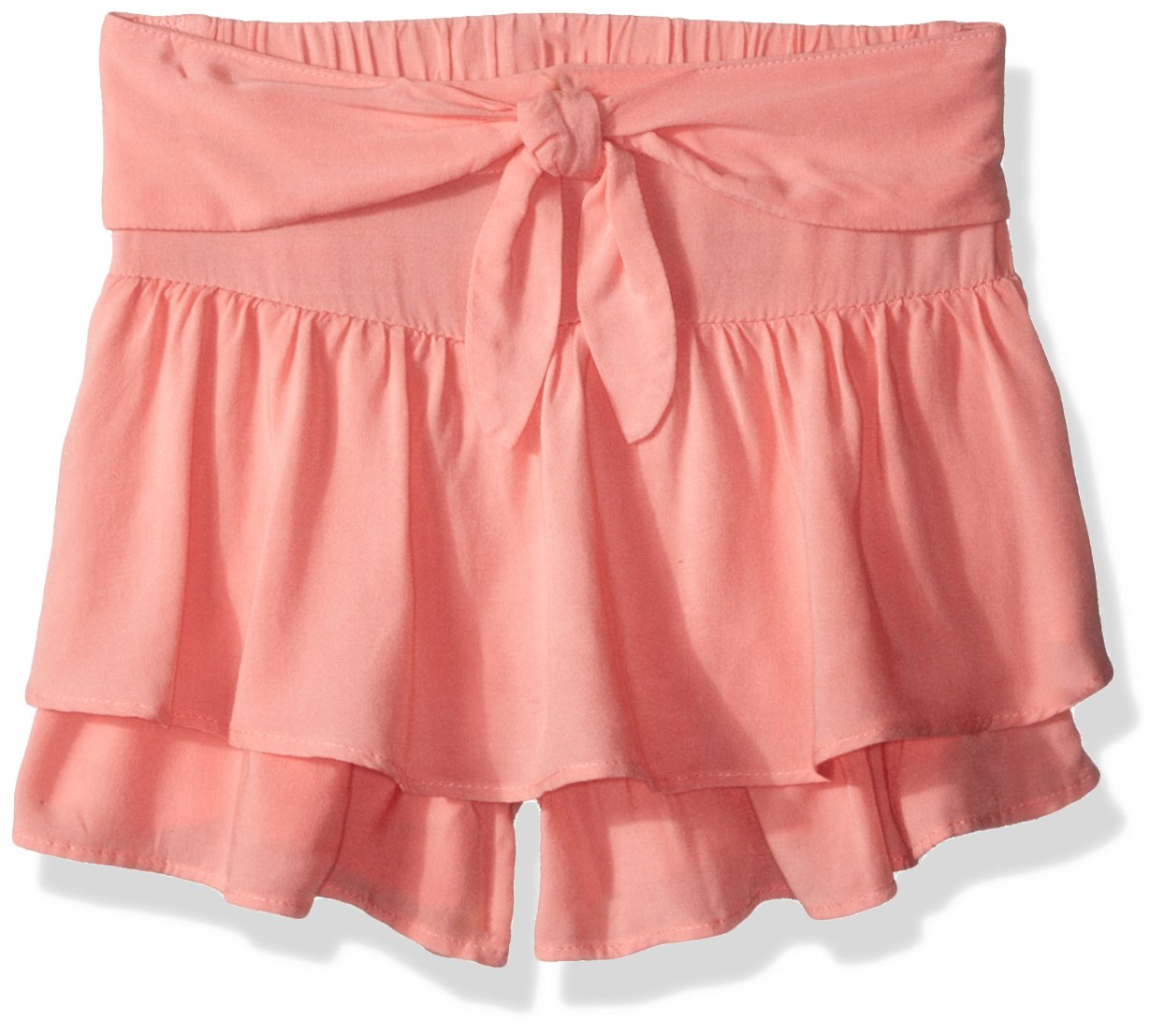 Crazy 8 Girls' Toddler Tie Front Skort, Pink, 2T