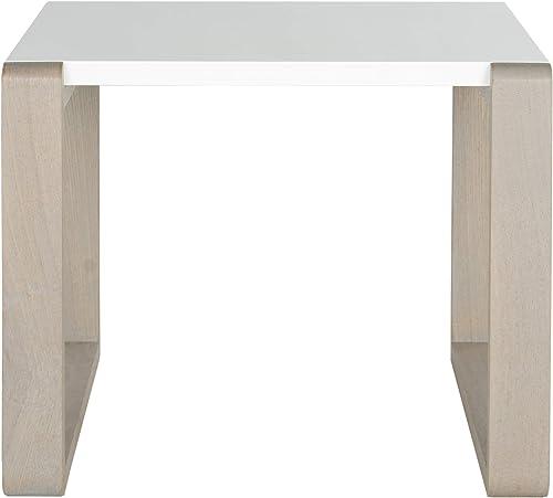 Safavieh Home Collection Bartholomew Mid-Century Grey Scandinavian End Table
