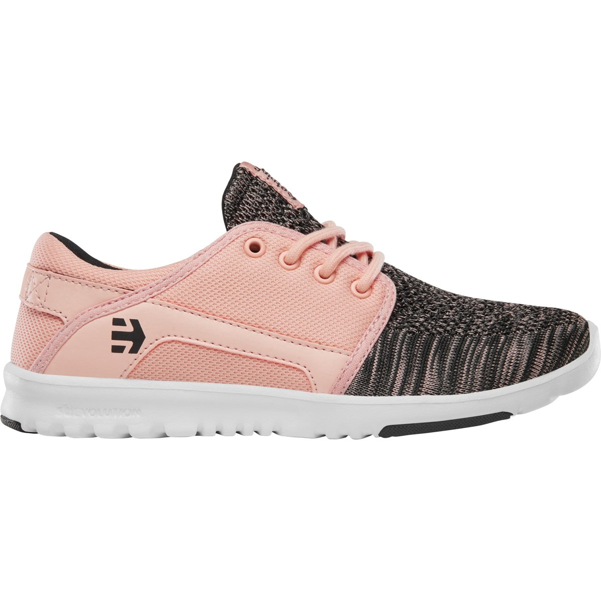 Etnies Women's Scout YB W's Skateboarding Shoe B0792H4WLK 7.5 B(M) US|Pink/Black