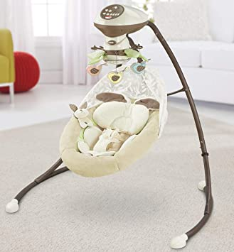 Fisher-Price Little Snugabunny Cradle n' Swing