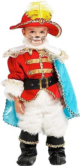 Vestito Da Gatto Con Costume Di Piccolo Carnevale Lusso Stivali Gli 8wn0mN