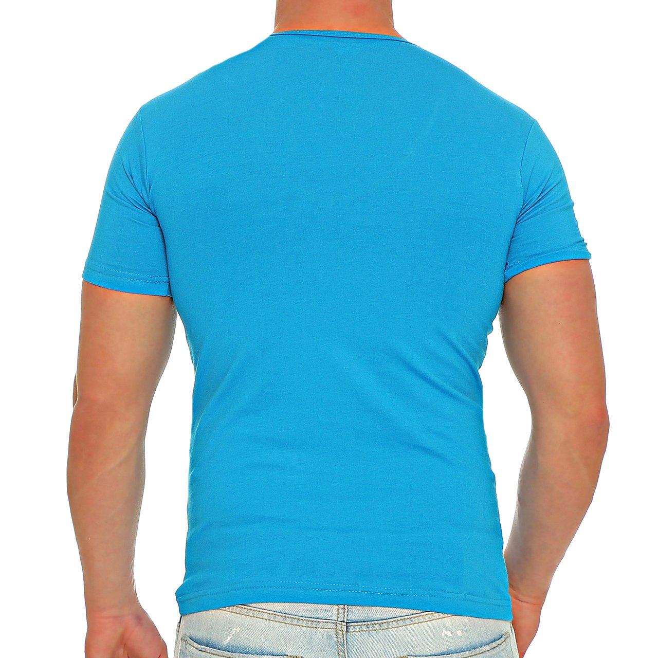 ea64078e628b4d Finchman Herren V-Neck T-Shirt Freizeit V-Ausschnitt Kurzarm Shirt   Amazon.de  Bekleidung