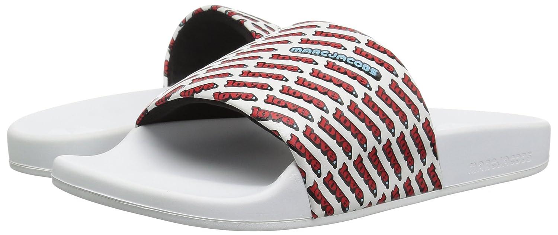 Marc Jacobs Womens Love Aqua Slide Sandal